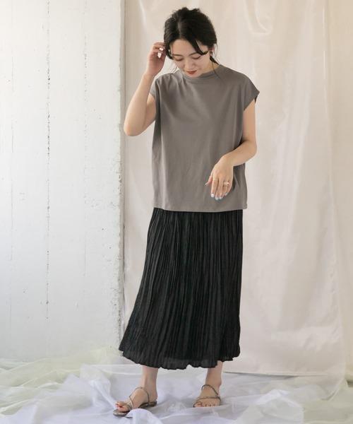 [ITEMS URBAN RESEARCH] ガラプリーツスカート