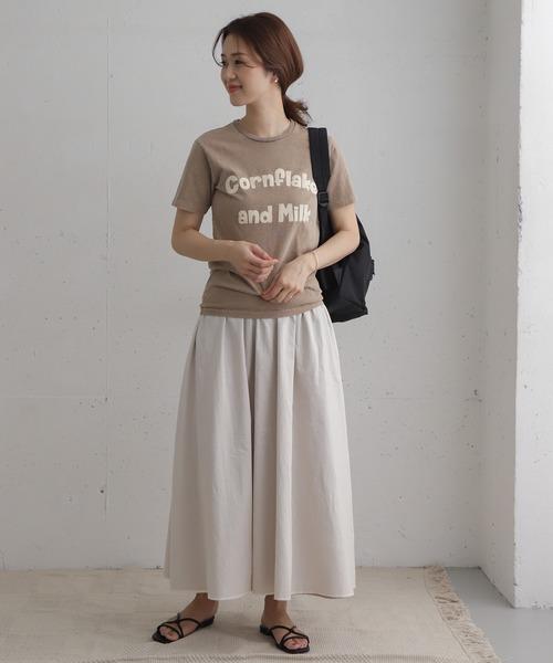 [URBAN RESEARCH DOORS] コットンボイルリバーシブルスカート