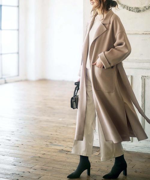 オーバーチェスターコートの服装