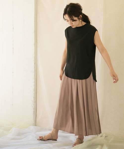 [ITEMS URBAN RESEARCH] カラープリーツスカート