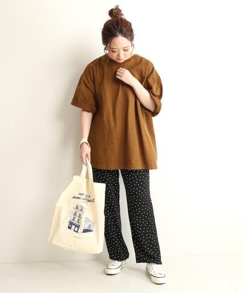 [IENA] 【CAMBER/キャンバー】SLOBE別注 BIGTシャツ【洗濯機使用可(ネット使用)】◆