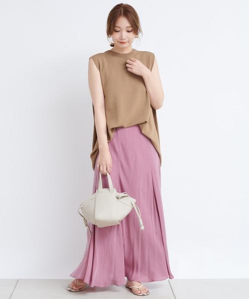 [DouDou] キュプラフレアスカート