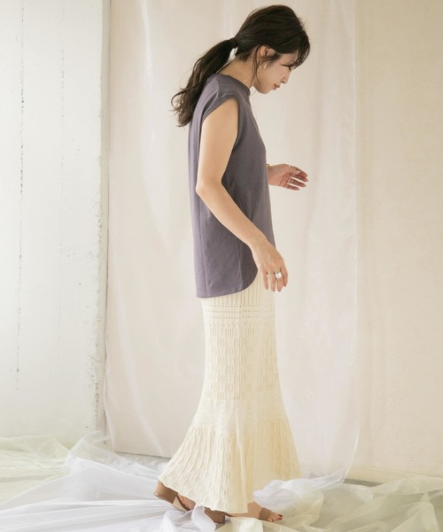 [ITEMS URBAN RESEARCH] クロシェタイトスカート