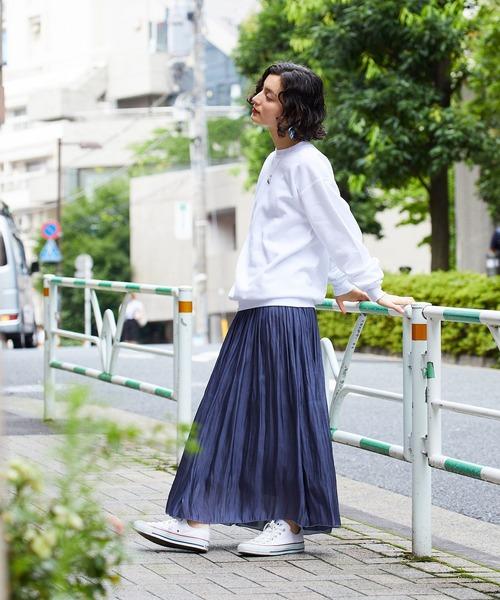 [ROOP TOKYO] Hanes/ヘインズ 7.8 oz. EcoSmart 50/50 Fleece Crew 裏起毛クルーネックスウェットトレーナー