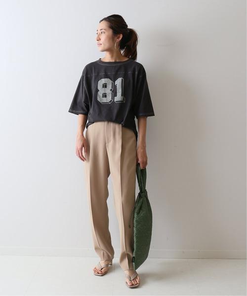 [Spick & Span] 【VOTE MAKE NEW CLOTHES】別注フットボールT◆