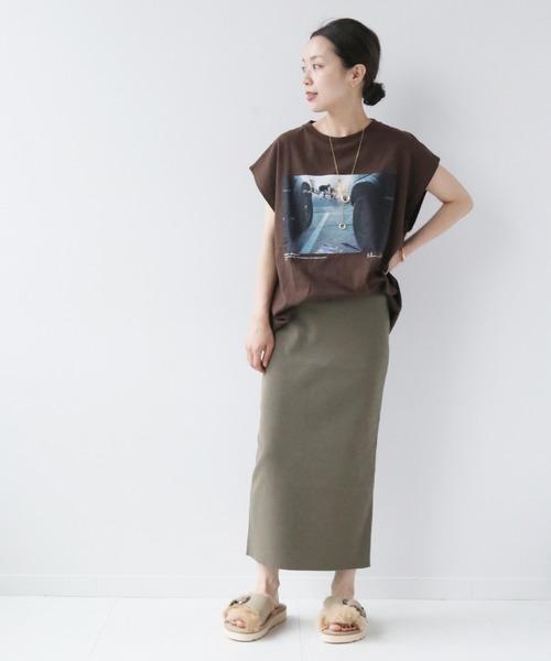 [Plage] CO/NY Tight スカート2◆