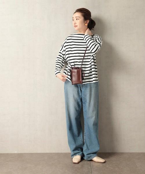 ロングスリーブTシャツの服装