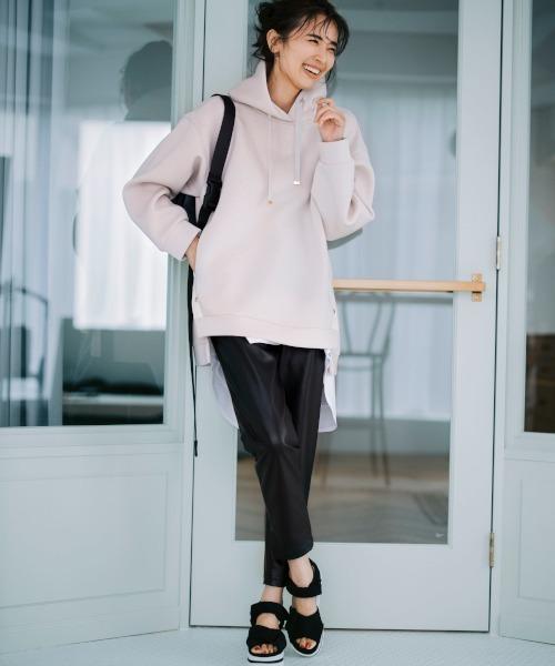 初秋レディースファッション パンツ