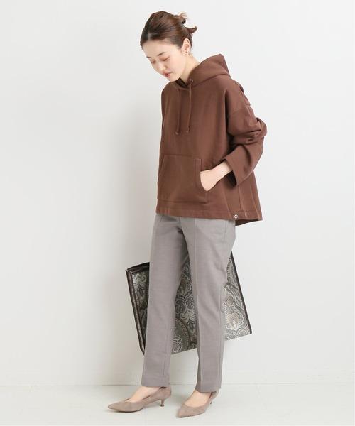 ファッションパーカー×センタープレスパンツ