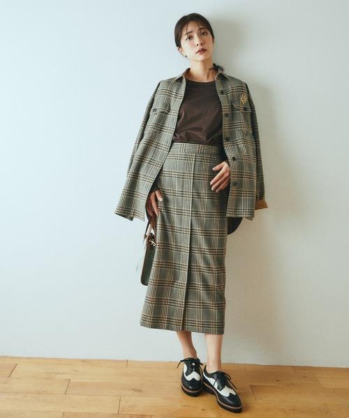 [BARNYARDSTORM] BARNYARDSTORM / チェックラップスカート