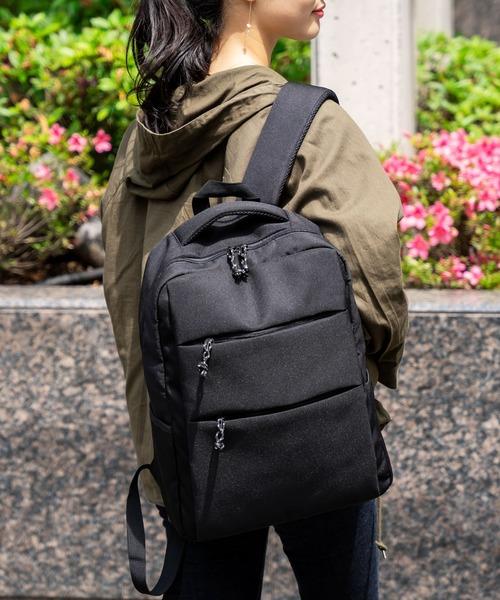 [VitaFelice] 【ノートPC16インチ対応】リュックサック メンズ レディース ビジネス パソコン収納 バックパック レディース A4 軽量 PCケース 通勤通学バッグ