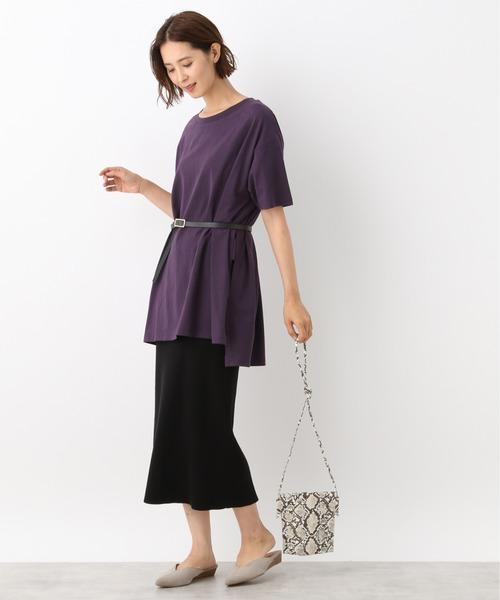 [LEPSIM] リラックスマットBIGTシャツ 892026