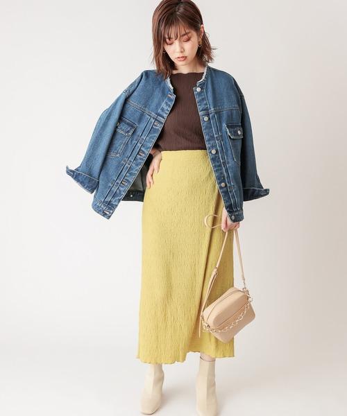 スカートで大人の秋ファッション