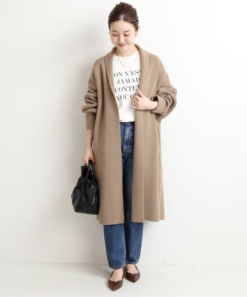 大阪|12月服装|ロゴTシャツコーデ