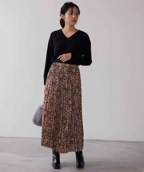 [ViS] ラッププリーツスカート