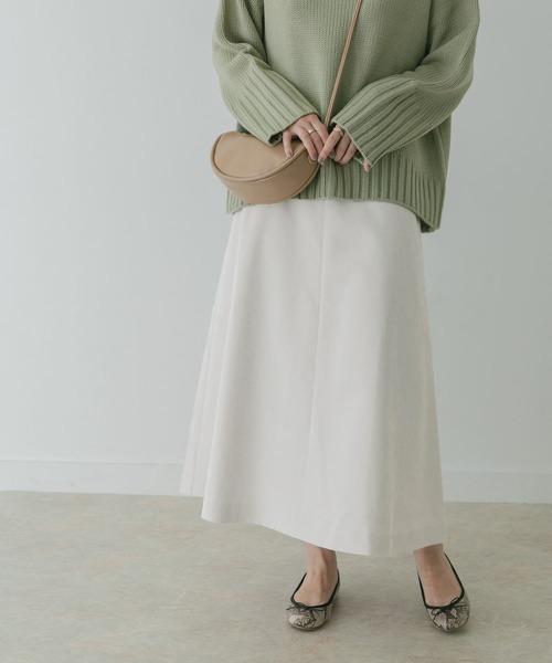 [KBF] KBF+ コーデュロイフレアスカート