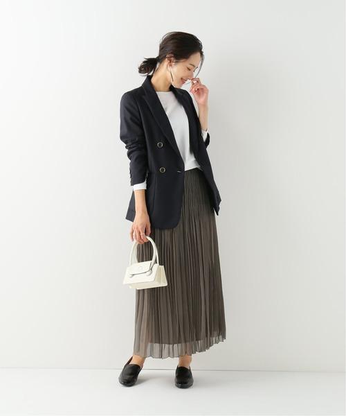 [IENA] ウールダブルブレストジャケット
