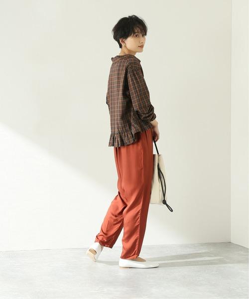 [JOURNAL STANDARD] 【GALLEGO DESPORTES/ギャレゴデスポート】 Frill Shirt:シャツ