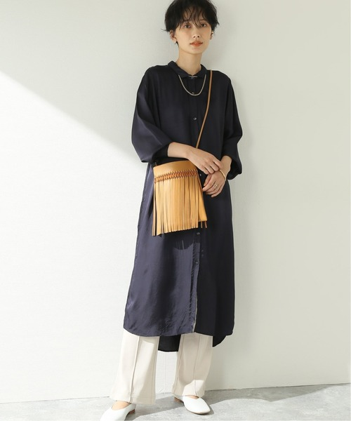 [JOURNAL STANDARD] 【GALLEGO DESPORTES/ギャレゴデスポート】 TWILL Gathered ShirtOP:ワンピース