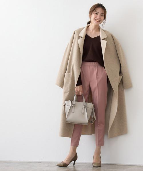 オーバーコートの服装