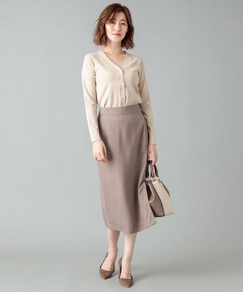 大人が着こなす秋ファッション【スカート】