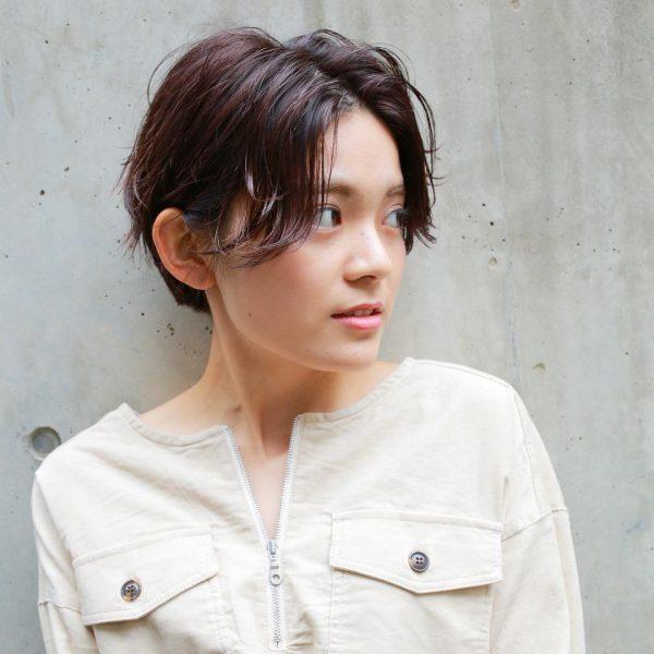 くせ毛さん×ショートヘア【前髪なし】9