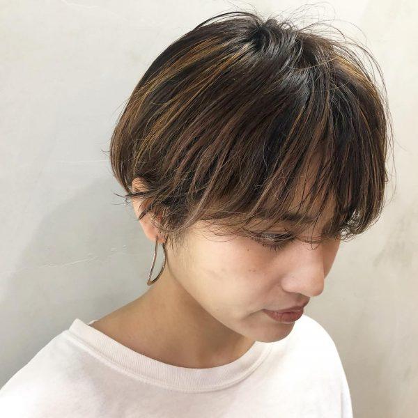 くせ毛さん×ショートヘア【前髪あり】9