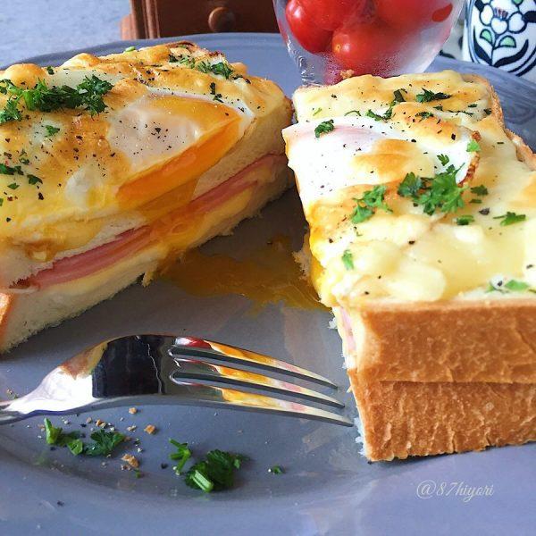 カフェごはんの人気レシピ《パン》3