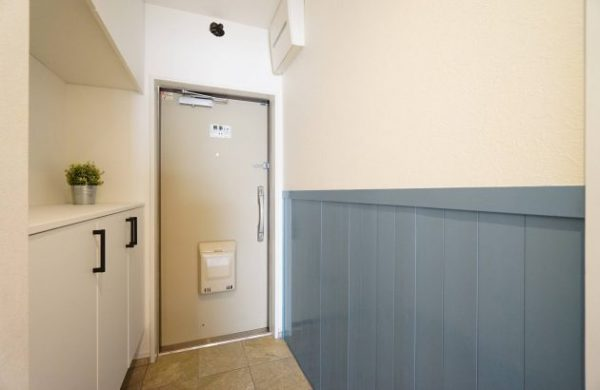 マンション 玄関 リノベ6