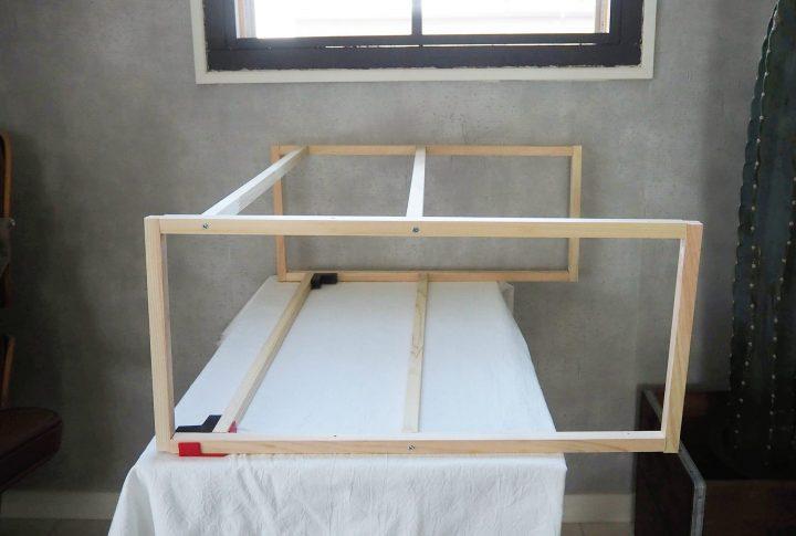 3.棚の中段と下段の土台を作る2
