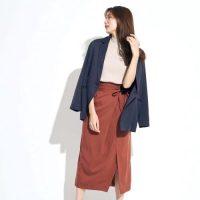 スカートで着こなす好印象なお仕事コーデ♡華やかさたっぷりの女っぽファッション
