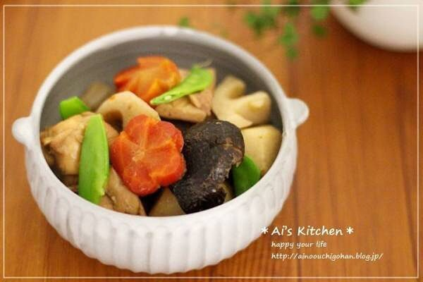 野菜のメインおかずの作り置き!筑前煮