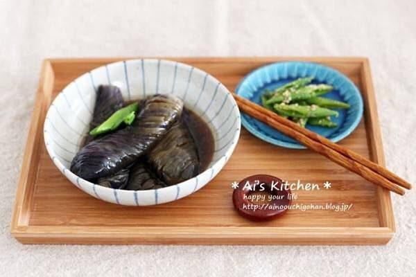 美味しい野菜だけレシピ!なすの揚げ浸し