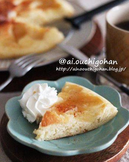 秋スイーツの簡単ケーキレシピ!りんごケーキ