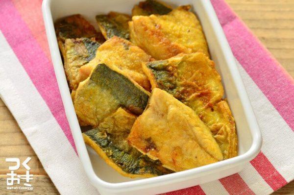 ダイエットにおすすめの簡単お弁当☆魚介9