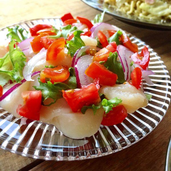 夏の夕飯の冷たい主菜に!カルパッチョ