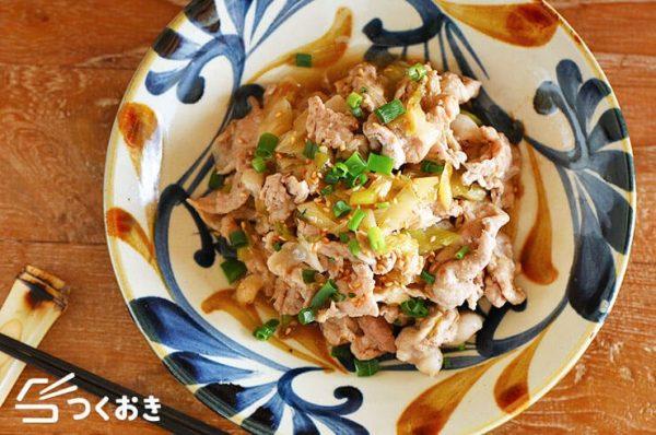 彼氏が喜ぶ簡単な和食ご飯☆お肉3