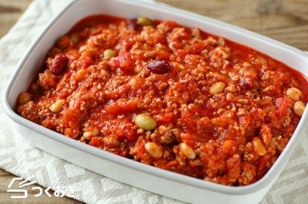 ひき肉の常備菜☆簡単レシピ《副菜》6