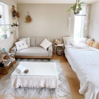 狭い部屋を可愛くコーディネートするアイデア特集!広く使うコツや収納方法は?