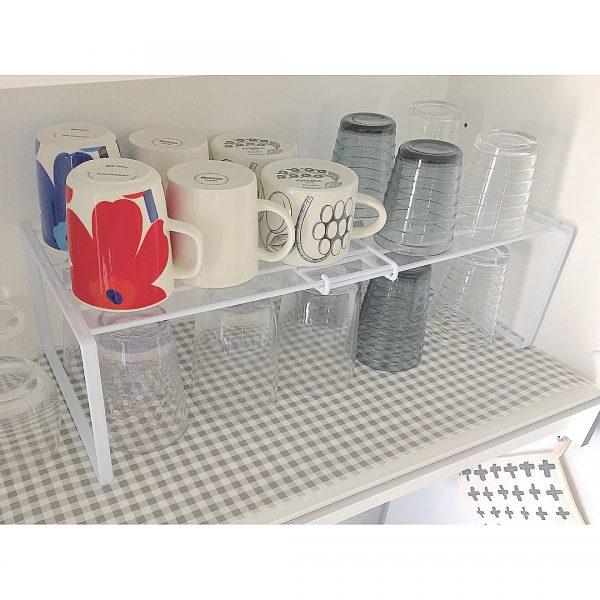 マグカップやグラスの収納アイデア8