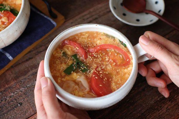 人気☆トマトの中華風レシピ【麺・汁物】5