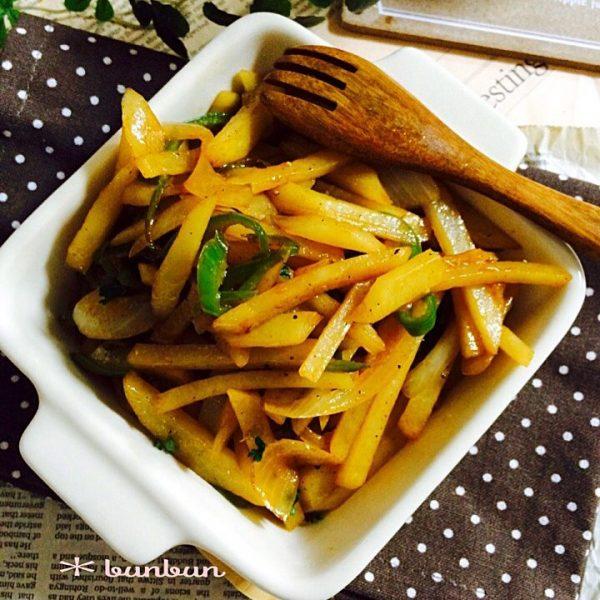 野菜だけの簡単おかずレシピ!ソース炒め