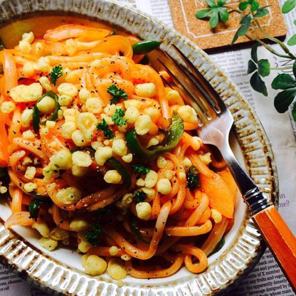 子供に人気の昼ごはんレシピ《温かい麺》2