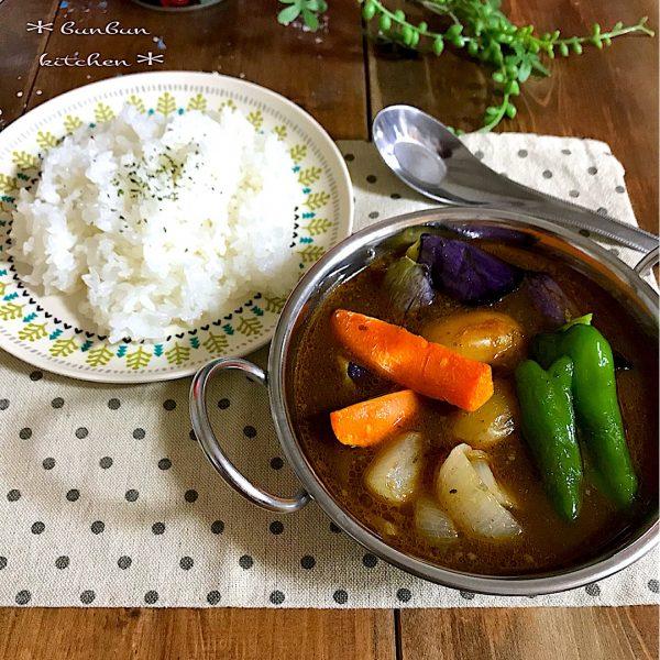 野菜だけで作るレシピ!スープカレー