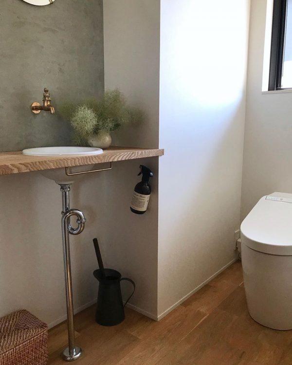 トイレ インテリア ナチュラル9