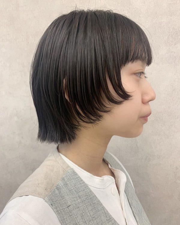 くせ毛さん×ショートヘア【前髪あり】10