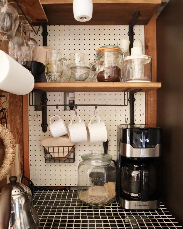 キッチン用品の収納