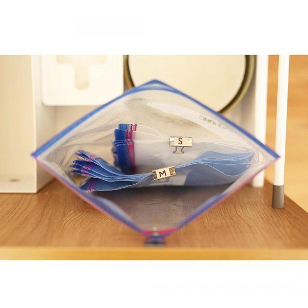 ジッパーバッグ すっきり 収納アイデア4