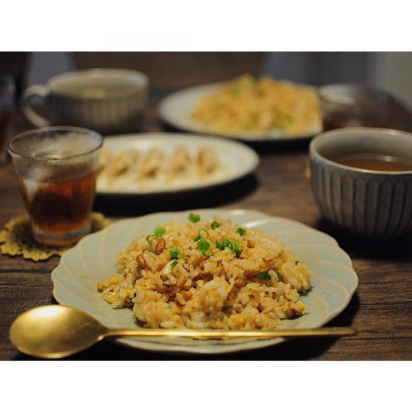 冷やご飯の簡単チャーハンレシピ!4