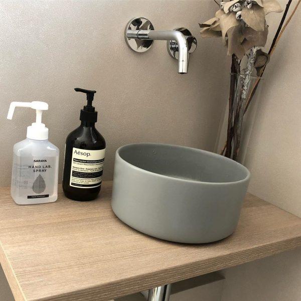 玄関脇の手洗いスペース